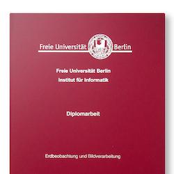 Bindung eines Diploms oder einer Bachelorarbeit